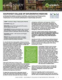 case study - SCNM