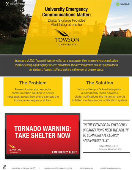 444 x 573 Cover image - Case Study - Towson Univ & Industry Weapon.png