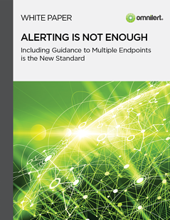 White Paper - Alerting Is Not Enough - Emergency Notification Systems