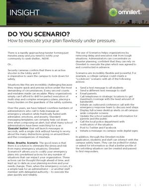 Insight - Do You Scenario