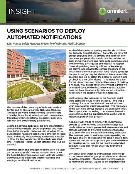 Insight - UNMC - Using Scenarios to Deploy Automated Notifications 2017-1.png