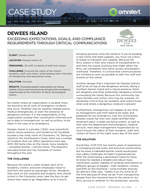 Dewees Island Case Study Image-TY