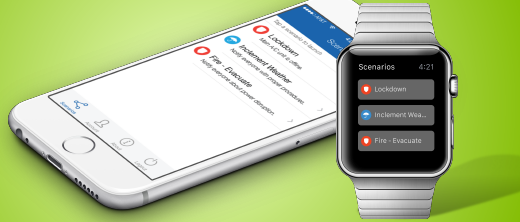 Login Omnilert Scenario Launcher Mobile App