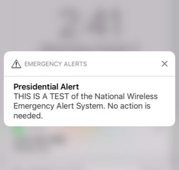 Understanding the Presidential Alert