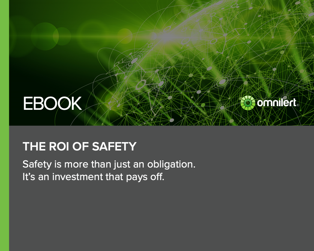 The ROI of Safety - Operational Efficiencies
