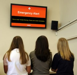 Is digital signage part of your emergency communications strategy?