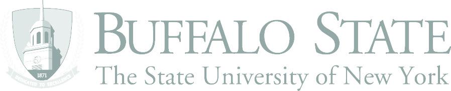 buffalo state college logo