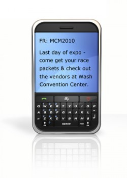 Marine Corps Marathon Selects RainedOut for Text Message Alerts & Tip Line