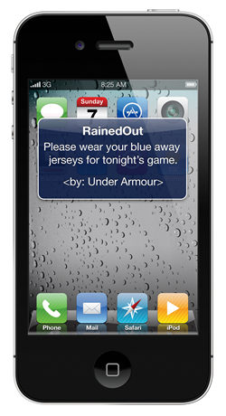 RainedOut Announces $100 Free Text Message Advertising