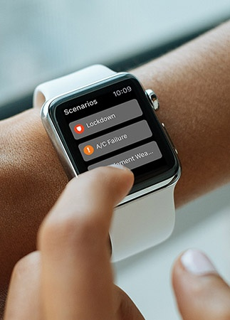 The power of Scenarios… Now also on the Apple Watch