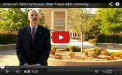 WTAMU selected as the next 'America's Safe Campus'