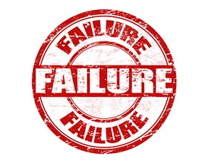 Failure is not an option. It's inevitable.