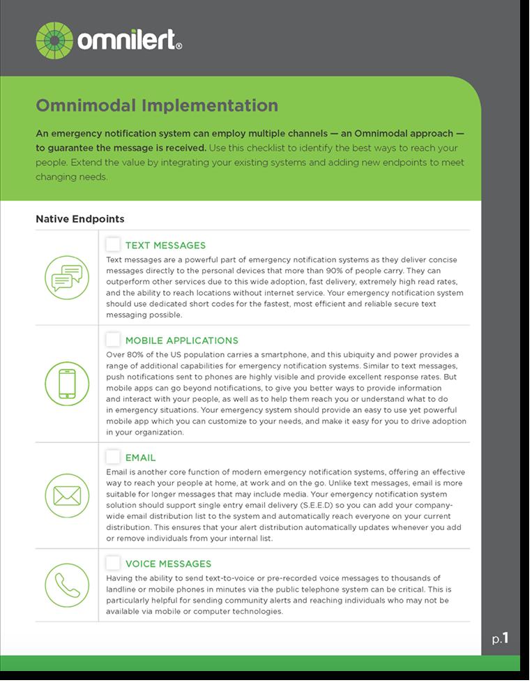 omnimodal implementation